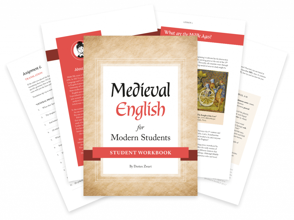 Medieval English for modern students, challenge your students